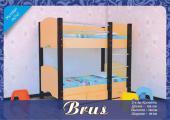 """Детская двухъярусная кровать """"Brus"""""""