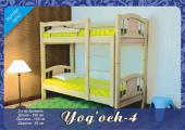 """Детская двухъярусная кровать """"Yog'och 4"""""""