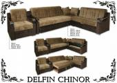 """Комплект угловой мягкой мебели """"Delfin Chinor"""""""