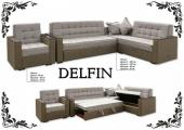 """Комплект угловой мягкой мебели """"Delfin"""""""