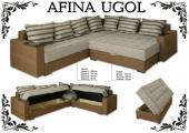"""Комплект угловой мягкой мебели """"Afina"""""""