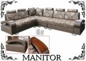 """Комплект угловой мягкой мебели """"Manitor"""""""