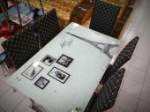 """Набор для кафе """"Париж"""", стол + стулья"""